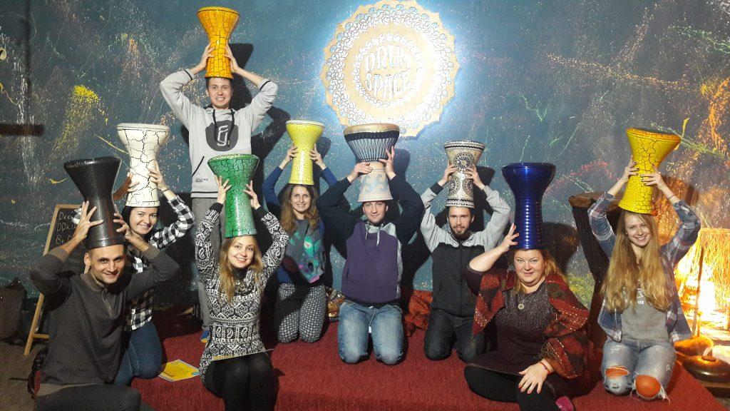 барабанный интенсив в школе перкуссии Ethno Drum's - школа этнических барабанов