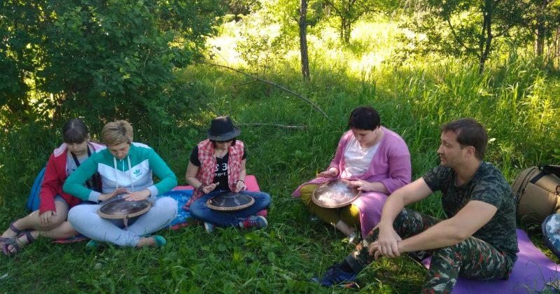 Мастер класс по глюкофонам в лесу  — 10 июня
