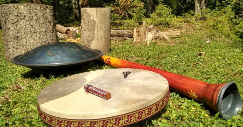Sound meditation & tea ceremony в лесу — 28 июля