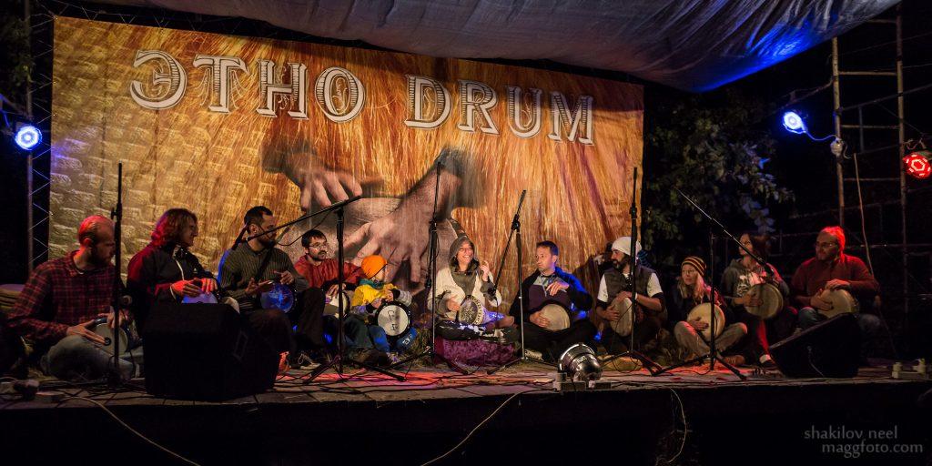 Raquy Danziger на фестивале Этно Драм фест Раки Данзигер в Украине