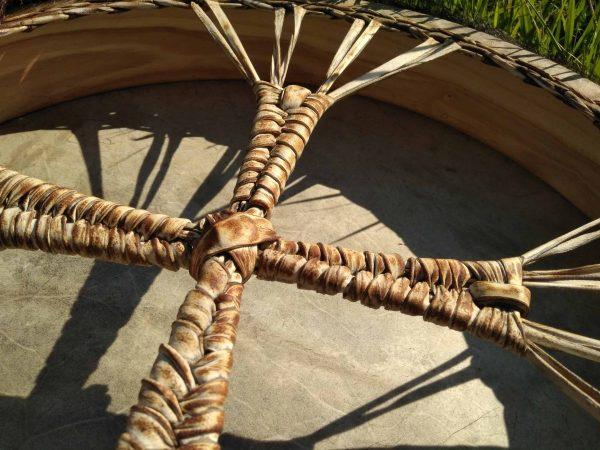 бубен шаманский кожа барабан с колотушкой