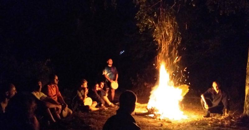 Барабанный джем в Саржином Яру — закрытие сезона