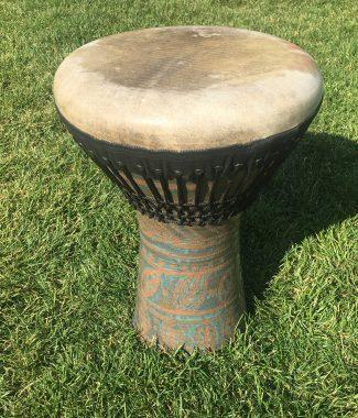 керамический этнический барабан дохола купить Украина