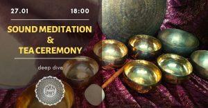 sound meditation & tea ceremony