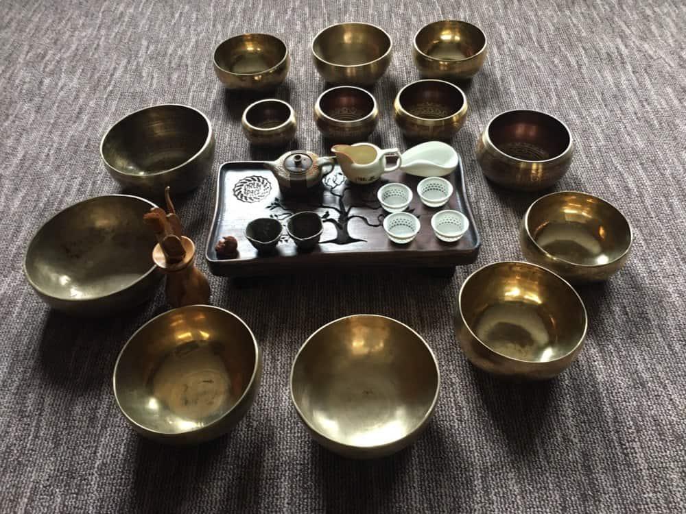 звуковая медитация и чайная церемония в DRUM SPACE