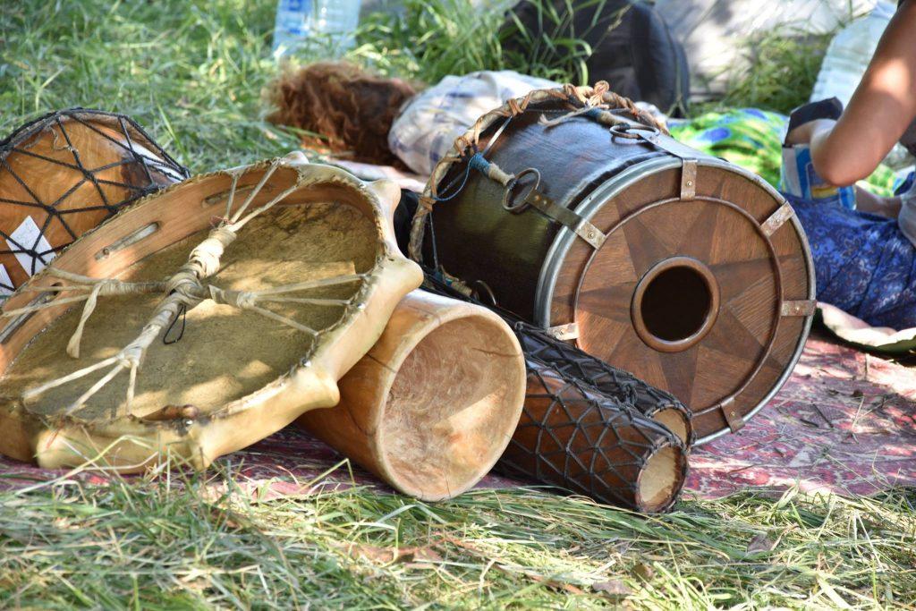барабанный джем в Харькове, этнические музыкальные инструменты