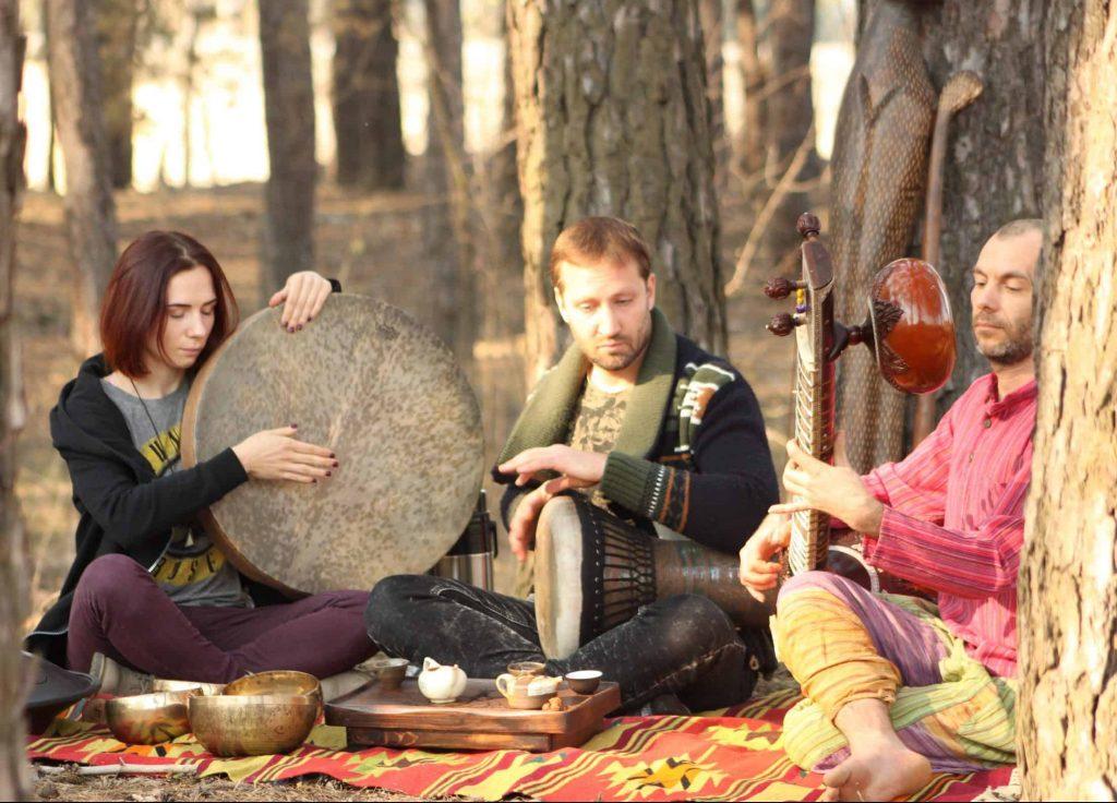 этническая музыка FOX BAY и Сергея Истомина