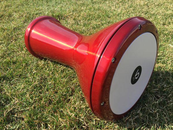 купить этнический барабан в Украине дарбука табла красная
