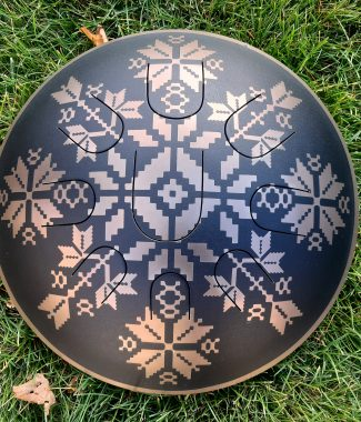 guda drum freezbee глюкофон steel tongue drum hapidrum