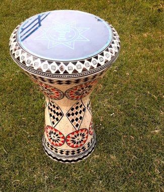дарбука табла инкрустированный барабан Alexandria perl darbuka